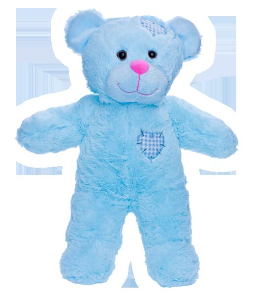 Large Blue Teddy Bear